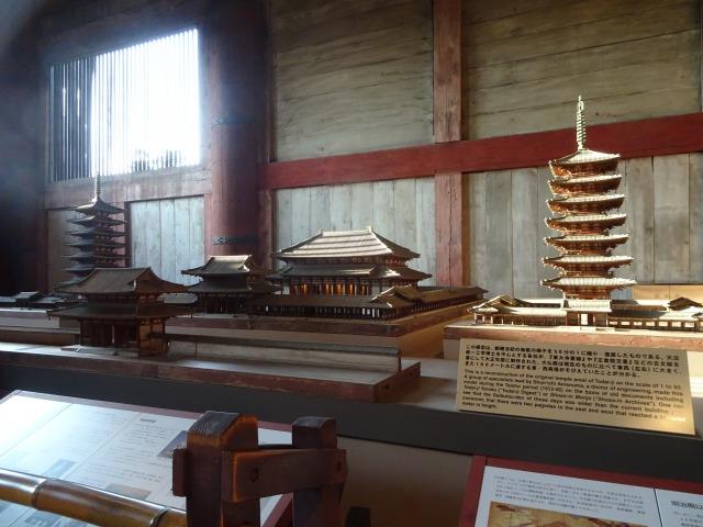 創建当時の大仏殿の模型